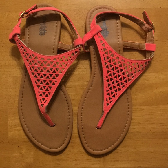 Charlotte Russe Shoes - Pink Sandals